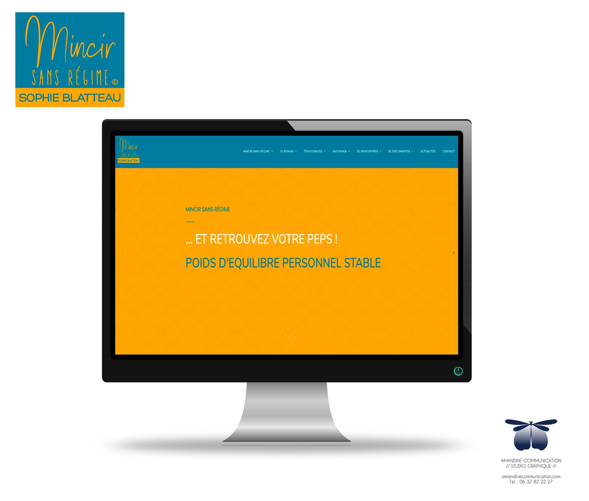 pack identitée visuelle et création de site internet